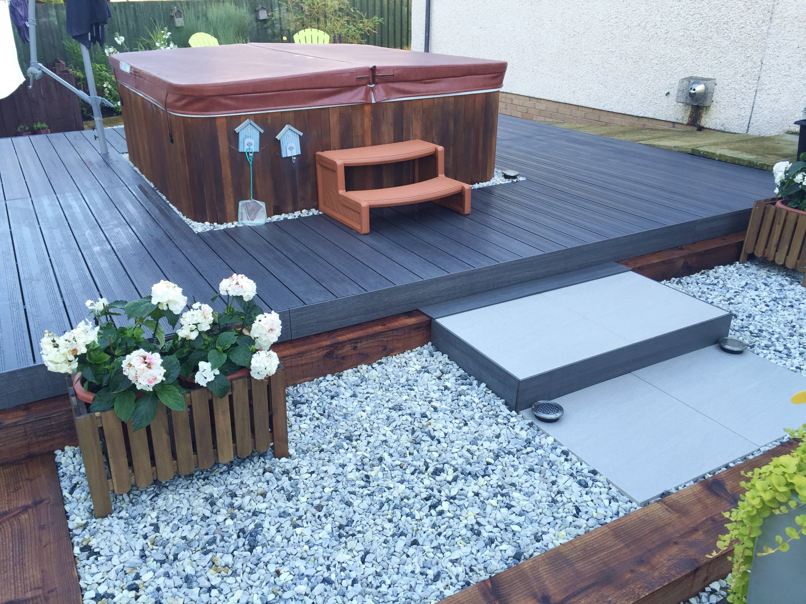 composite decking side facia trim