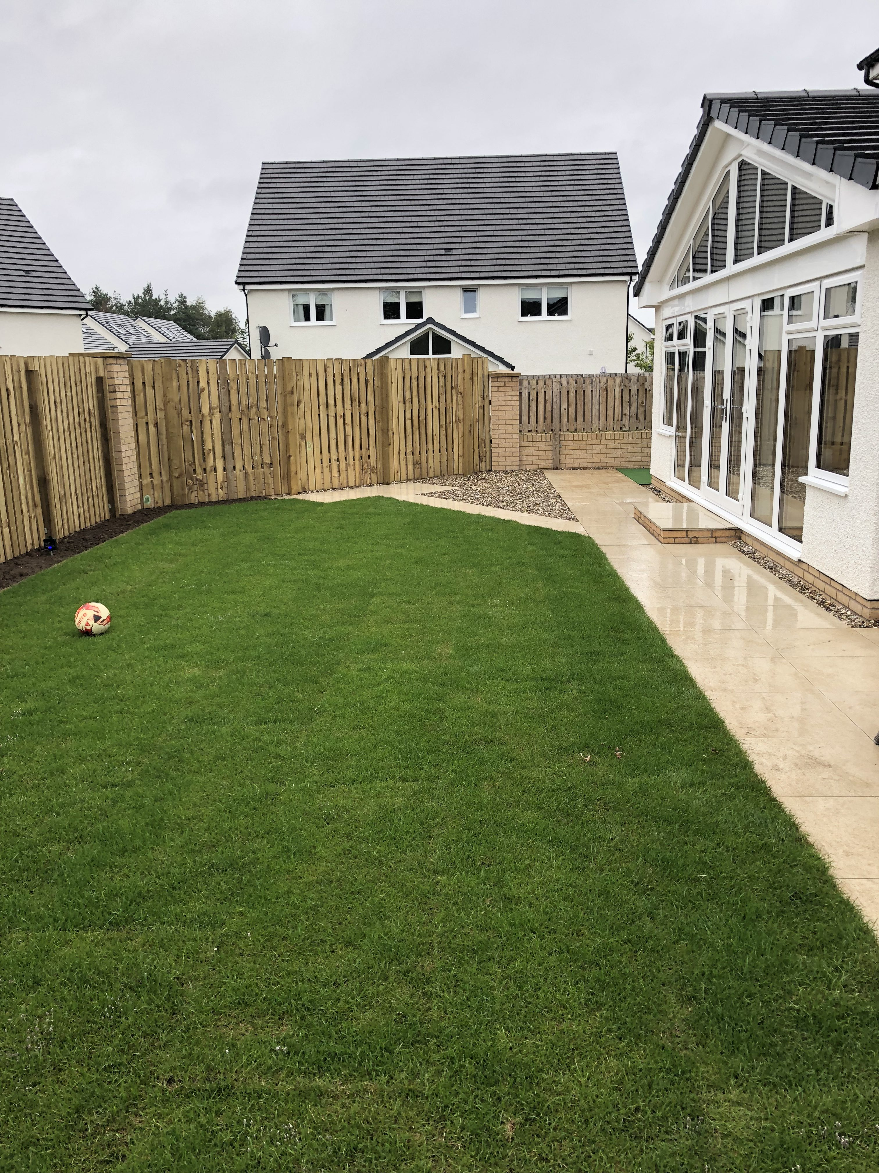 MArfil Vitrified Paving Slabs Garden