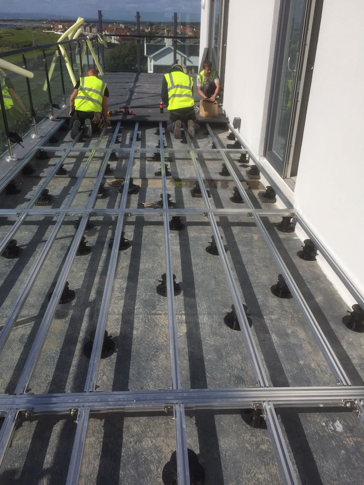 Aluminium Decking Substructure Castle Composites