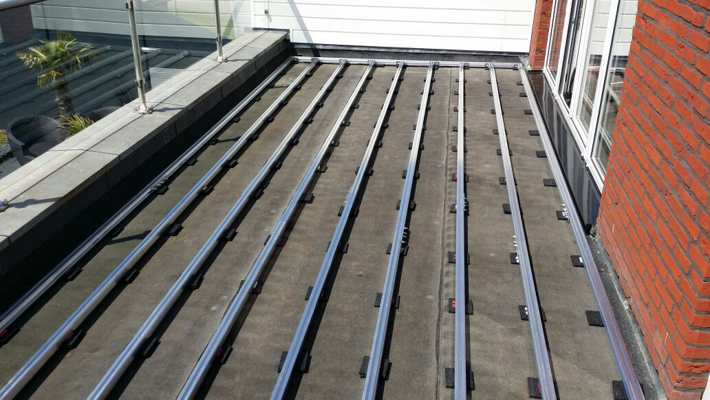 Aluminium Joists decking