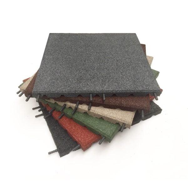 castleflex rubber tiles