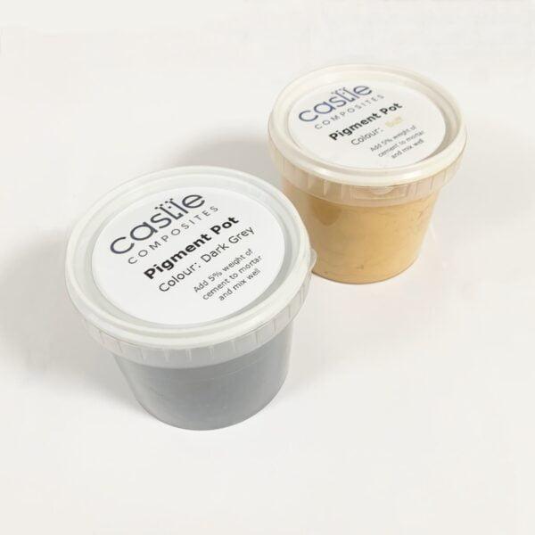 Coping Pigment Pots