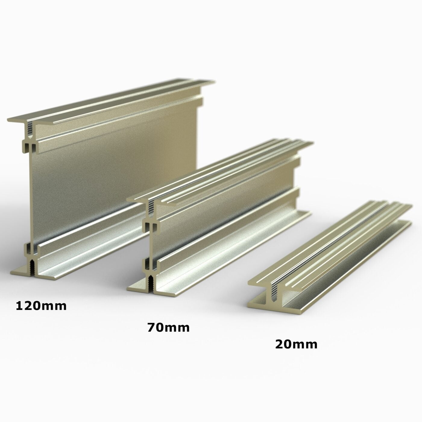 Castle Aluminium Decking Beams